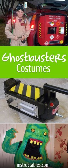 Strap on your proton pack, Halloween is coming! Be a Ghostbuster, or maybe even a Stay Puft Marshmallow Man for Halloween this year.
