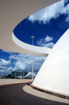 Honestino Guimarães museum, Brasília - Distrito Federal, Brazil