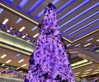 Gorgeous Purple Christmas Tree