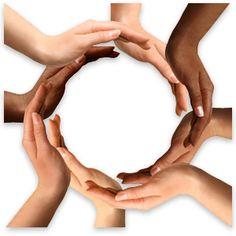 Multiracial Hands Making a Circle. Conceptual symbol of multiracial human hands , Inbound Marketing, Internet Marketing, Marketing Books, Content Marketing, Cota Racial, Leader In Me, Social Skills, Social Justice, Lesson Plans