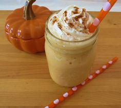 Very low cal (under 50 calories!) yummy version of Starbucks pumpkin pie frap. OMG pumpkin!!