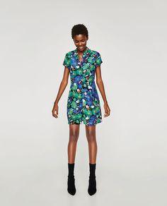 Fl Print Dress Mini