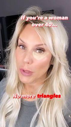 Under Eye Makeup, Makeup Over 40, Makeup Eye Looks, Under Eye Concealer, Skin Makeup, Beauty Makeup, Hair Beauty, Contouring For Beginners, Makeup Tips For Beginners