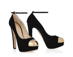 LOCKED UP - Charlotte Olympia. I love this & the Debbie shoe with the keyhole.