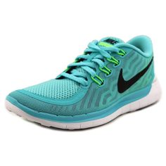 Amp up your fitness with these Nike Women's 'Free 5.0' Mesh Athletic Shoes. Made from mesh upper and man-made outsole, these running style shoes offer a comfortable flat heel. Mesh/man-made material M