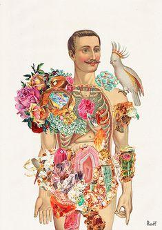 Art Prints, stickers and stationery by PRRINT Anatomy Art, Human Anatomy, Anatomy Study, Flower Anatomy, Body Study, Nature Posters, Illustration, Human Art, Doodle Art