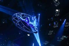 Cirque Du Soleil NYE 2014 at The Light Nightclub .    November 2013 to January 2014 .  Team Members: Anouk Wipprecht (anoukwipprecht.nl), Matt Pinner, Niccolo Casas (niccolocasas.com), Daniel Schatzmayr (@__mind__), Matt Pinner (mpinner.com). Wearable electronics and experiment with a set of technology-equipped, coordinated performance pieces to enhance the Cirque Du Soleil experience...   VIDEO: https://www.youtube.com/watch?v=lR7r1BkMuxE