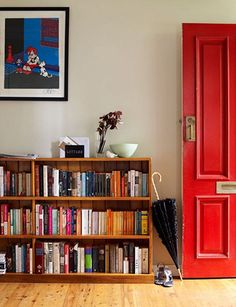 You can't beat a bright red door.