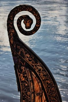 Viking Ship Detail