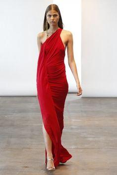 Donna Karan Resort 2014 Collection The L World Lifestyle. Red Fashion, Star Fashion, Couture Fashion, Runway Fashion, Fashion News, Fashion Beauty, Fashion Show, Vintage Fashion, Dona Karan