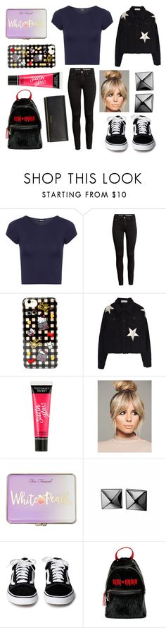 """""""OOTD"""" by hailey-smith-13 ❤ liked on Polyvore featuring WearAll, Hello Kitty, Victoria's Secret, Too Faced Cosmetics, Waterford, Tommy Hilfiger and Prada"""
