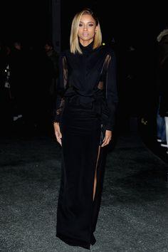 Ciara, that hair and that dress!