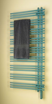 towel warmer (put on the wall next to tub where the towel hooks are now?)
