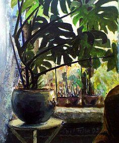 "art-pickings: "" Charles Isaac Ginner (1878–1952, British) Spring Day at Boscastle """