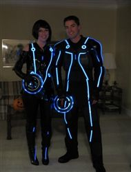 Led lit tron v20 suit suits led and diy and crafts the ultimate tron style diy costume kit solutioingenieria Gallery