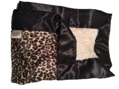 Golden Cheetah Stroller Blanket