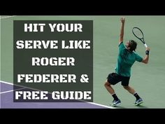 Simple Tennis Forehand Tips For More Power And Topspin Tennis Techniques, Tennis Serve, Roger Federer, Tennis Racket, Improve Yourself, How To Become, Youtube, Drop, Tennis