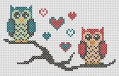 diy how to make tutorial owl cross stitch