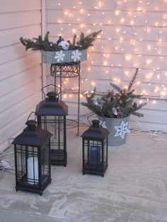 Front porch post christmas!