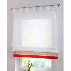 Chinese Modern Curtains White Sheer Tulle Short Window Curtains for Kitchen Roman Blinds curtains for living room cortina