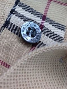 Burberry Polo Mens Shirt Size Sz Large Nova Check Plaid Authentic Brown | eBay
