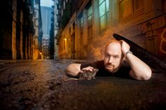 I shot Louis CK at Milk Studios in a set built manhole, then relocated the image to Cortland Alley. The rat is taxidermy, Louis CK did no. Louis Ck Quotes, Comedy Bang Bang, Crooked Smile, Milk Studios, Dave Chappelle, Seinfeld, Portrait Inspiration, Funny People, Comedians