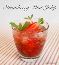 Strawberry Mint Julep Recipe