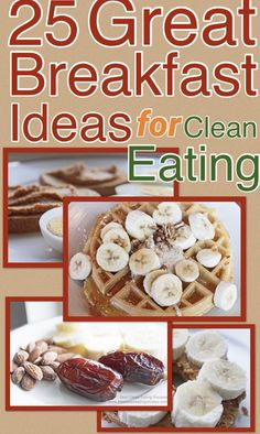 Start your day with great breakfast ideas that are easy, tasty and fit for the clean eating diet. From peanut butter to healthy breakfast smoothies, you will find healthy choices without sacrificing taste. Clean Eating Breakfast, Healthy Breakfast Smoothies, Clean Eating Diet, Easy Healthy Breakfast, Healthy Meal Prep, Easy Healthy Recipes, Healthy Breakfasts, Healthy Snacks, Snack Recipes