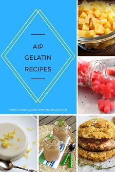AIP Gelatin Recipes - #AIP #recipes #gelatin http://paleomagazine.com/AIP-gelatin-recipes/