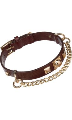 Fallon Wide Necklace Dog Collar - . Hermes (my dog) loves this.