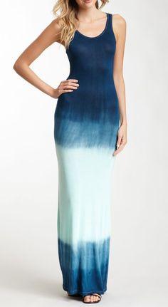American Twist | Tie Dye Maxi Dress