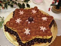 La buona cucina di Katty: Torta tiramisù a forma di stella natalizia
