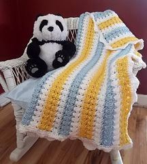 X Stitch Afghan via Ravelry- love the colors in this afghan, so cheery and bright!