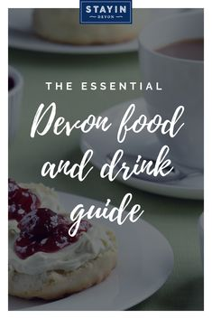 A holiday wouldn't be complete without sampling some locally-caught fish and chips, a delicious ice cream or a cream tea. Our essential food and drink guide has all the info you'll need 💙 Cream Tea, Ice Cream, Devon Holidays, Fish And Chips, Food Festival, Cheesecake, Food And Drink, Drinks, Desserts