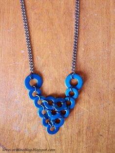 Love, Caroline Blog: DIY Washer Necklace