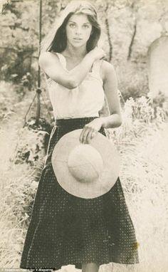 Lovely length for high waist skirt, blouse