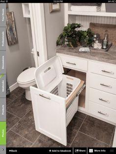 Para o móvel da lavandaria.