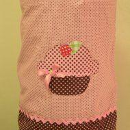 Capa de galão de água de cupcake