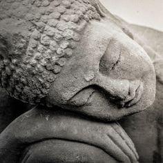 Sleeping Buddha Zen Art Print Peaceful Art by ChasedByBeauty