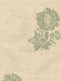 Dainty floral wallpaper with a hand stamped finish.