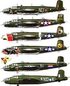 B-25 Mitchell  -my father's plane in WWII.