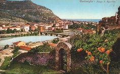 Il Borgo Sant'Agostino visto dalla Città Vecchia - A colori