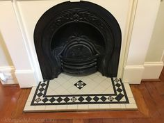 Latest Screen victorian Fireplace Hearth Tips fireplace-heritage-tessellated-tiles – Default Title fireplace hearth Fireplace Hearth Tiles, Victorian Fireplace Tiles, Wooden Fireplace, Brick Fireplace Makeover, Fireplace Screens, Home Fireplace, Fireplace Mantels, Fireplaces, Fireplace Ideas