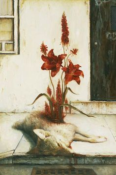 Martin Wittfooth. Red Soil.