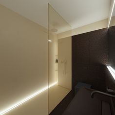 Hotel room by Oporski Architektura, via Behance