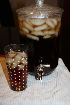 Delicious Southern Style Sweet Tea in a Flash