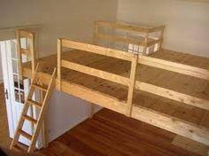 die besten 25 hochbett bauen ideen auf pinterest loft stauraum podestbett hochbetten und. Black Bedroom Furniture Sets. Home Design Ideas