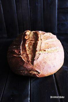 Pan sin amasado de cerveza negra