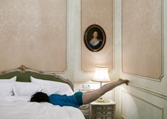 This intriguing series by Norwegian photographer Anja Niemi is a self-portrait project entitled Do Not Disturb. Photography Exhibition, Art Photography, Fashion Photography, Contemporary Photography, Creative Photography, Foto Instagram, Female Portrait, Photo Art, Photo Galleries
