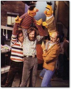 Noooo! I thought Bert and Ernie were realllll!!!!!!